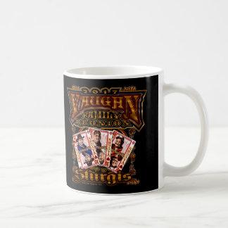 Taza de café de la reunión de Vaughn de la familia