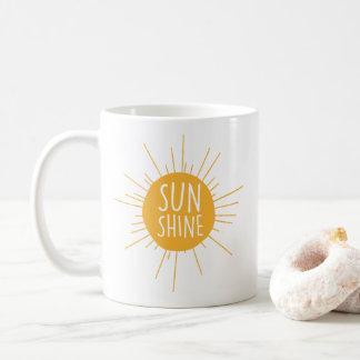Taza de café de la sol