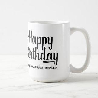 Taza de café de la tipografía de la escritura de