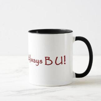 Taza de café de la universidad de la subida de