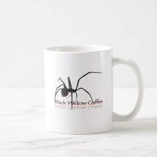 Taza de café de la viuda negra