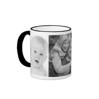 Taza de café de las fotos de Instagram del