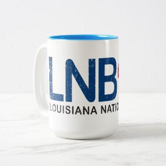 Taza de café de LNB (Luisiana National Bank)