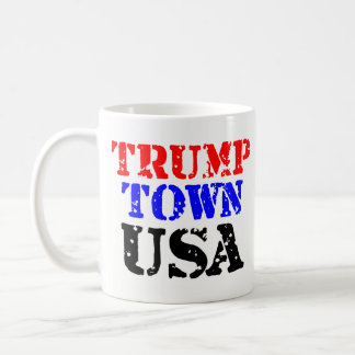 Taza de café de los E.E.U.U. de la ciudad del
