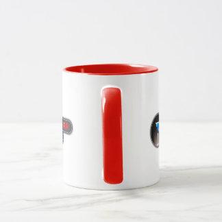 Taza de café de los juegos 11oz de la hora feliz