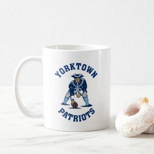 Taza de café de los patriotas de Yorktown 51ff7b24345