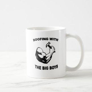 Taza de café de los Roofers, muchachos grandes