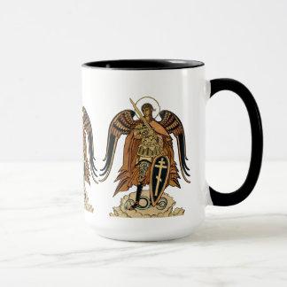 Taza de café de Michael CC0607 del arcángel de