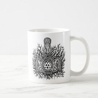 Taza de café de Mjolnir - de Valknut