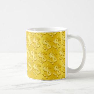 Taza De Café $ de oro $