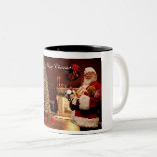 Taza de café de Papá Noel