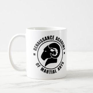 Taza de café de RAM, logotipo negro
