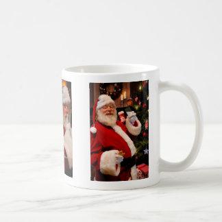 Taza de café de Santa