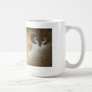 Taza de café de tres de Lis