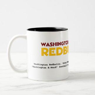 Taza de café de Washington Redbulls
