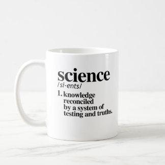Taza De Café Definición de la ciencia - conocimiento