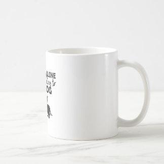Taza De Café déjeme solo, yo están hablando con mi perro hoy