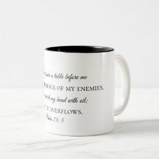 Taza de café del 23:5 del salmo
