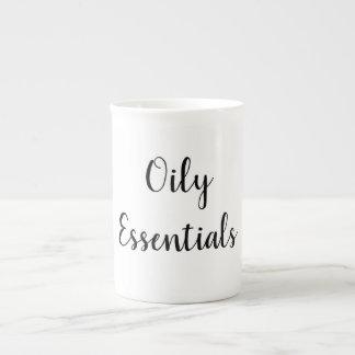 Taza de café del aceite esencial