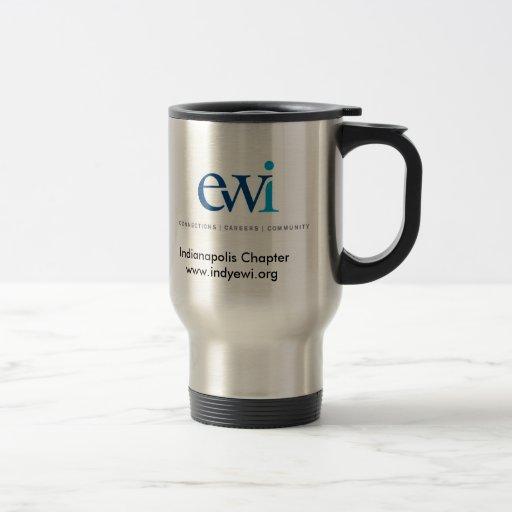 Taza de café del acero inoxidable de Indy EWI