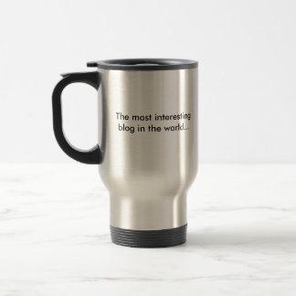 Taza de café del acero inoxidable de Mearablog