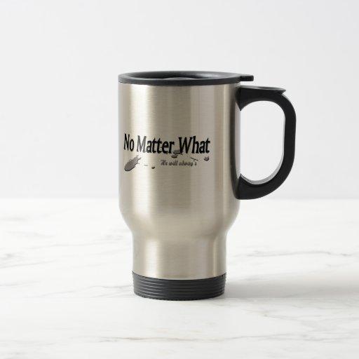 Taza de café del acero inoxidable, no importa qué