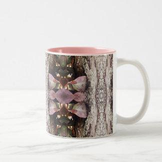 Taza de café del arte de la naturaleza de los