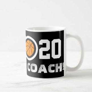 Taza de café del baloncesto del número 20 el  