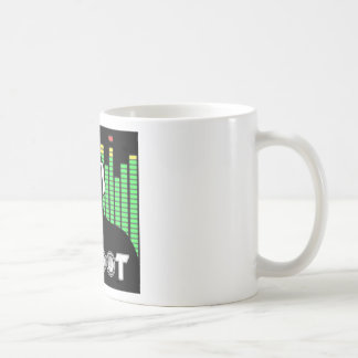 Taza de café del botín de DJ