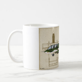 Taza de café del caballo salvaje OV-10