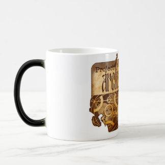 Taza de café del cambio del color del súcubo del