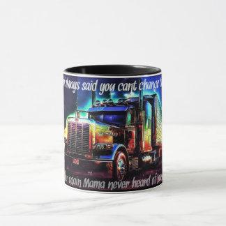 Taza de café del camionero