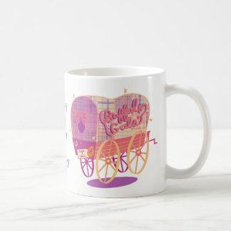 Taza de café del carro de los galones del búfalo