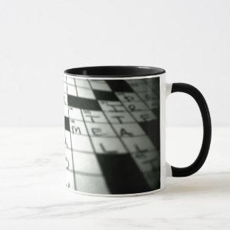 Taza de café del crucigrama