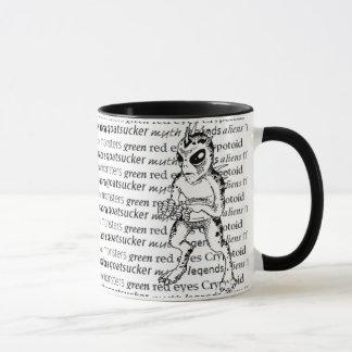 Taza de café del Cryptozoology del Chupacabra