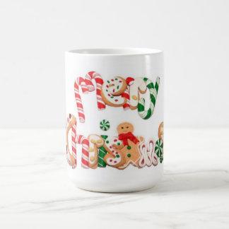 Taza de café del día de fiesta de las Felices