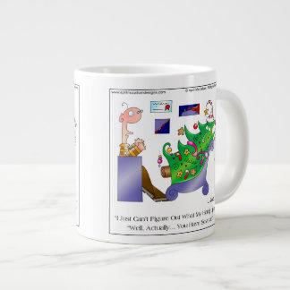 Taza de café del dibujo animado de los RETRASOS