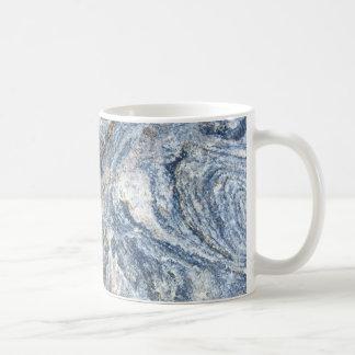 Taza de café del diseño de la roca del granito