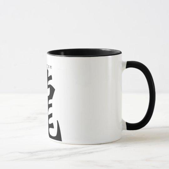 Taza de café del dragón