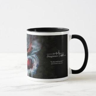 """¡Taza de café del """"ecocardiograma""""! Taza"""