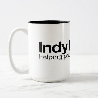 Taza de café del equipo de hogares de Indy