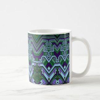 Taza de café del estilo del art déco
