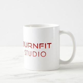 Taza de café del estudio de BurnFit