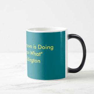 Taza de café del friki de la ciencia
