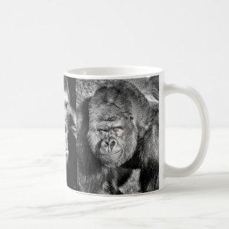 Taza de café del gorila