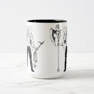 Taza de café del guerrero de Ganesh