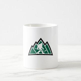 Taza de café del hockey de Sasquatch