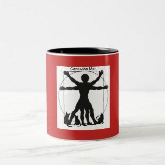 Taza de café del hombre de Catruvian