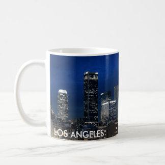 Taza de café del horizonte de Los Ángeles