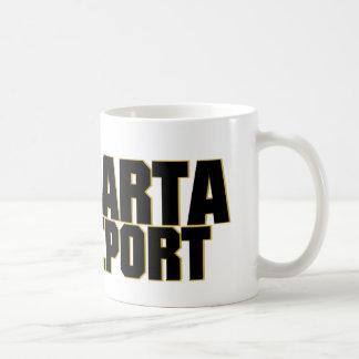 Taza de café del informe de Sparta
